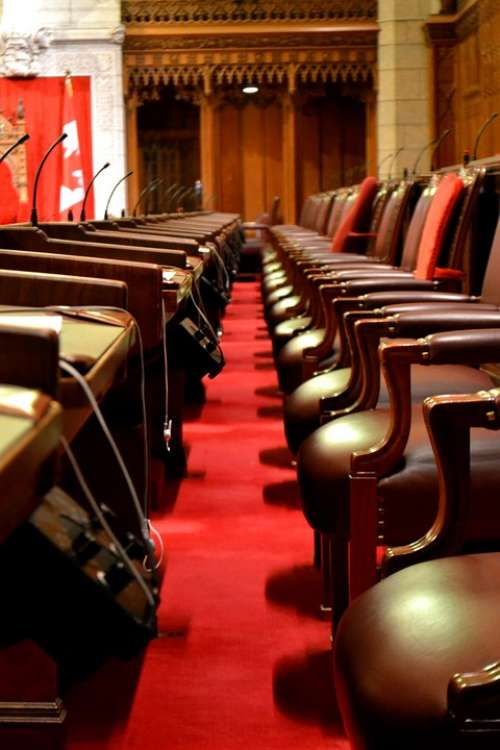 Parliament Seats Chairs Ottawa Canada Parli