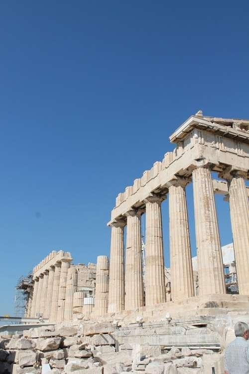 Parthenon Acropolis Greece
