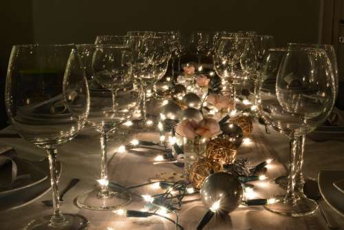 Party Kitchenware And Tableware Glass Wine Glasses