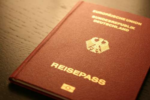 Passport Document Germany Federal Republic Of