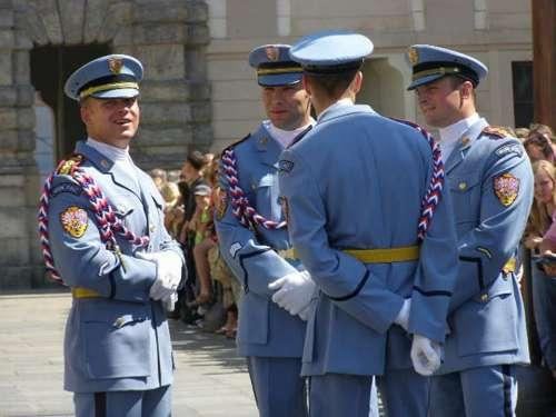 Patrol Guard Prague Castle Babysitting
