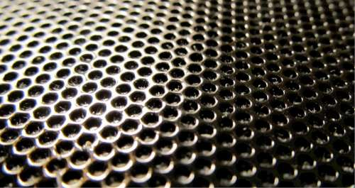 Pattern Texture Repetitive Hexagonal Holes Design