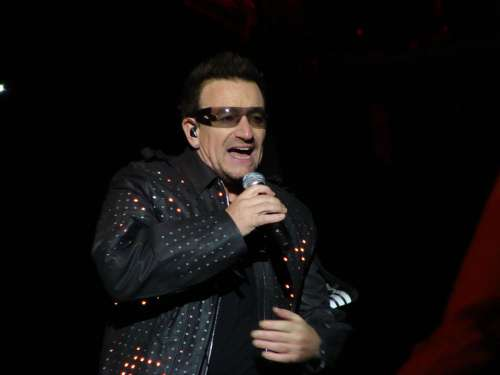 Paul David Hewson Singer Bono U2 Man Person