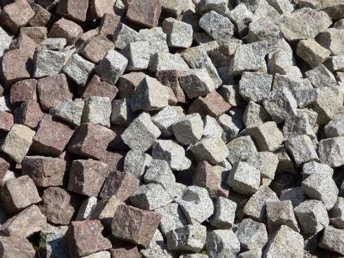 Pavement The Stones Heap Pavers Cube Stone