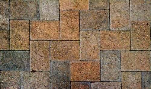 Pavement Stone Sidewalk Paving Pattern Cobblestone