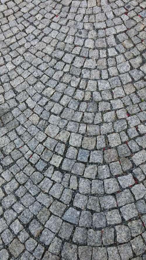 Paving Stone Cobblestones Annaberg-Buchholz Grey