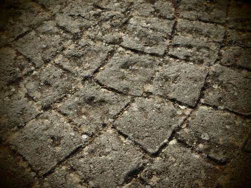 Paving Stones Soil Stepping On Background Stone