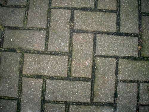 Paving Stones Paved Stones Sidewalk Pattern