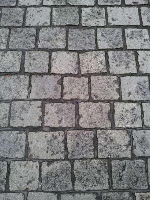 Paving Stones Cobblestones Ground Texture Stones