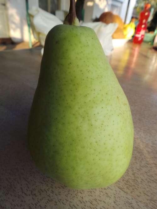 Pear Fruit Fresh Delicious Food Vegetarian Juicy
