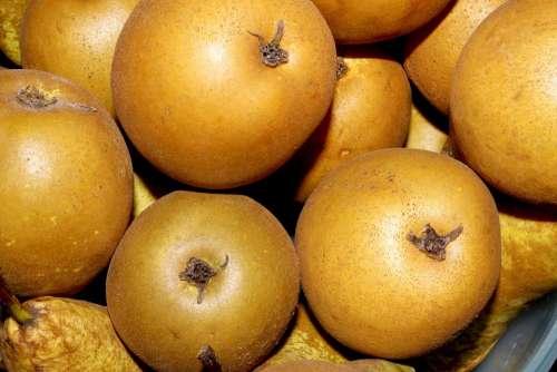 Pears Fruit Pear Healthy Vitamins Food