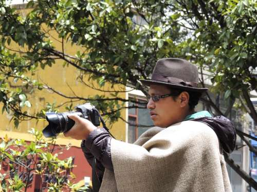 Peasant Photographer Boyaca
