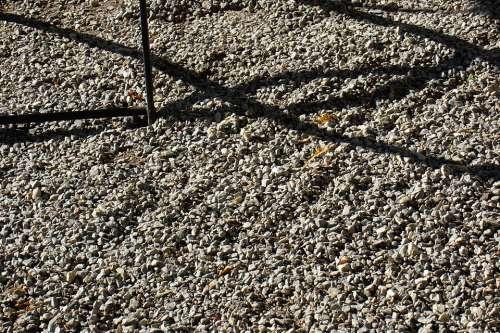 Pebble Steinchen Stones Garden Shadow Structure