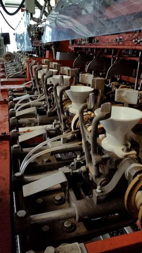 Peeler Machine Cannery Metal Old Iron Steel