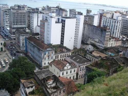 Pelorinho Salvador De Bahia City Streets