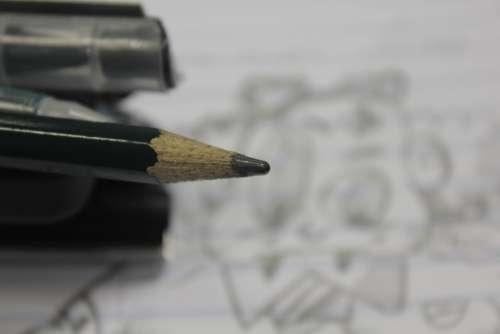 Pencil Drawing Pen Stub