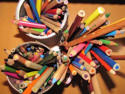 Pencil Color Writing Tool Pencils