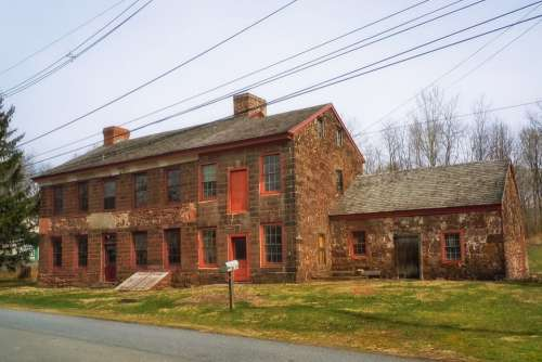 Pennsylvania Old Building Abandoned Historic