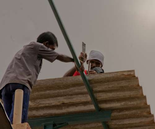 People Working Labor Laborer Worker Persons India