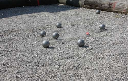 Pétanque Boule Sport Play Balls Shoot Pebble