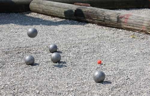Pétanque Boule Sport Play Balls Pebble