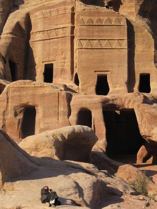 Petra Jordan Desert