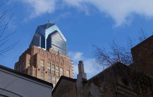 Philadelphia Urban Pennsylvania Skyline Skyscraper