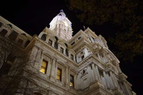 Philadelphia City Hall Building Masonry