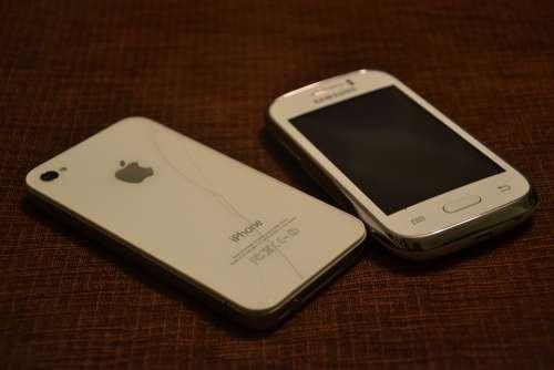 Phone Samsung Cell Cellular Phone Crack