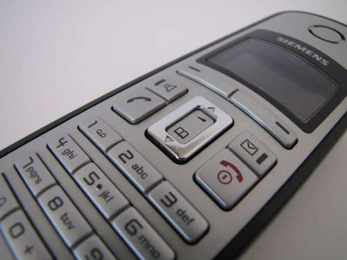 Phone Cordless Gigaset Siemens Electronics