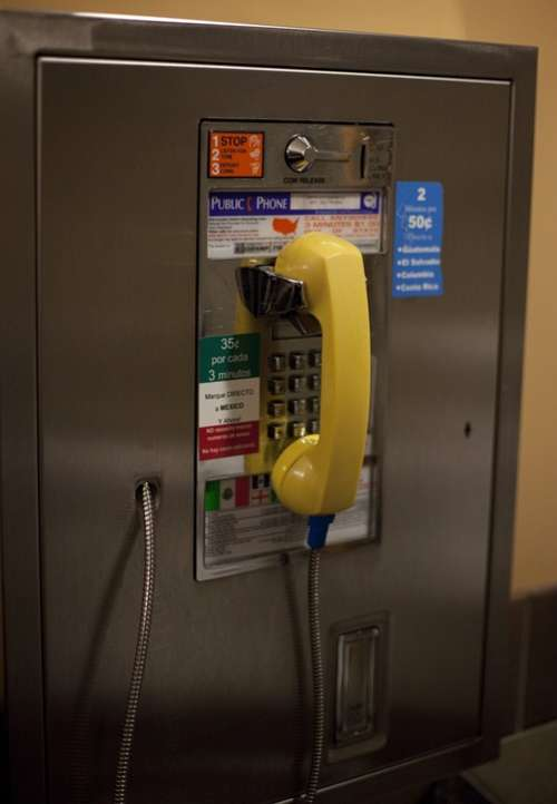 Phone Booth Telephone Booth Call Public Phone