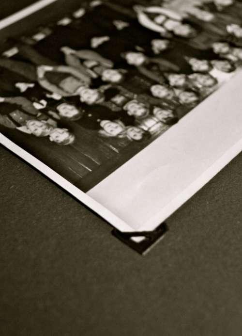 Photo Album Old Historically Black White