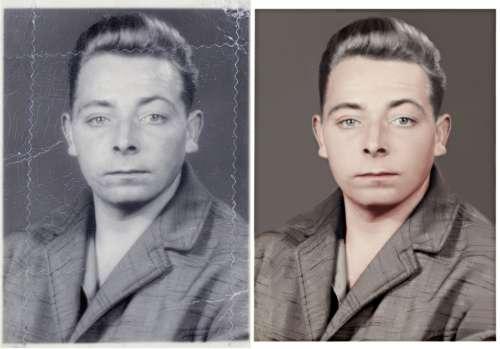 Photo Editing Image Manipulation Restoration Male