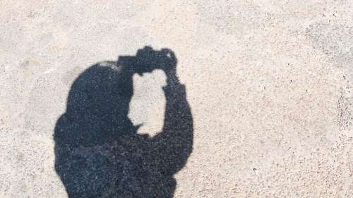 Photographer Shadow Picture Shooting