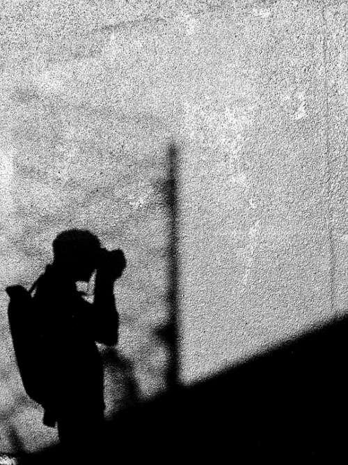 Photographer Photography Tourist Shadow Wall