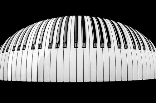 Piano Black Pianist Music Instrument Playing