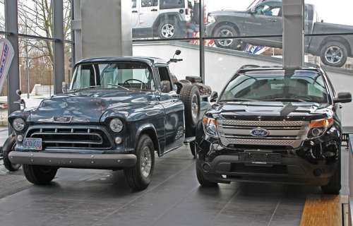 Pickup Ford Chevrolet Classic Vehicle Auto