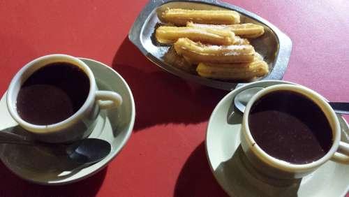 Picnic Chocolate Undone Churros Breakfast