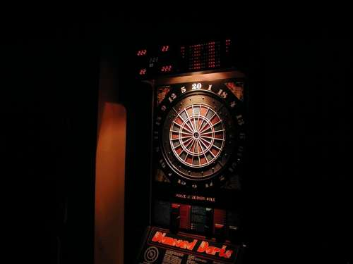 Pikado Machine Dart Game Bar Dartboard Target