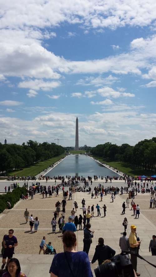 Pillar Monument Usa Washington United States
