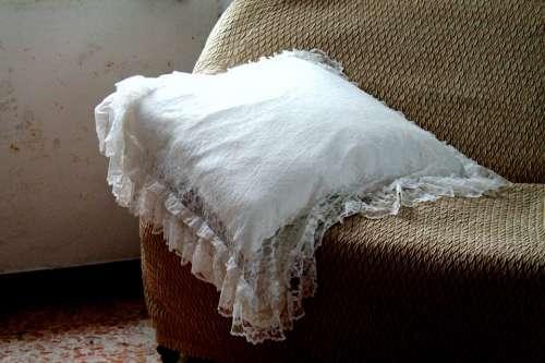 Pillow Sofa Pizzo Furniture Fabric Seats