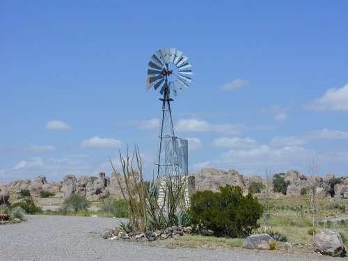 Pinwheel Windmill Waterwheel Wing Water Pump