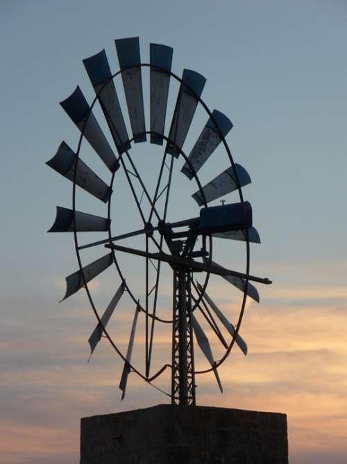 Pinwheel Wind Energy Mallorca Metal Wind Energy