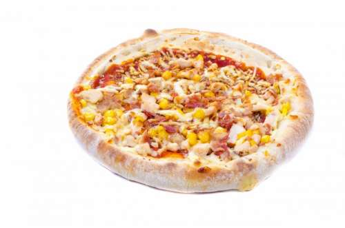 Pizza Food Pepperoni Made Home Olives Italian