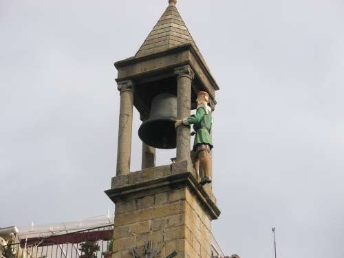 Plasencia Spain Campaign Sculpture