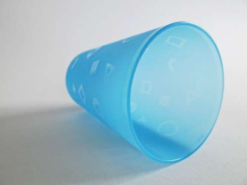Plastic Cups Cup Drink Beverages Colorful Blue
