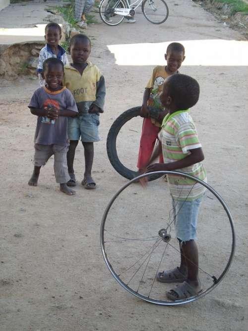 Play Children Child Toys Africa Children Toys