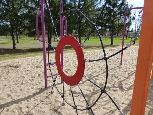 Playground Playing Field Park Play Game Fun Climb