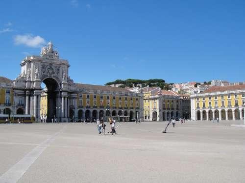 Plaza Lisbon Portugal