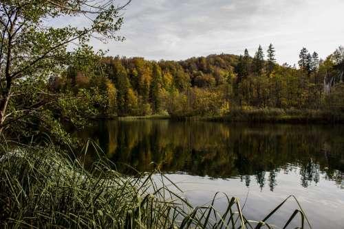 Plitvice Lakes Croatia Water Landscape Nature Park
